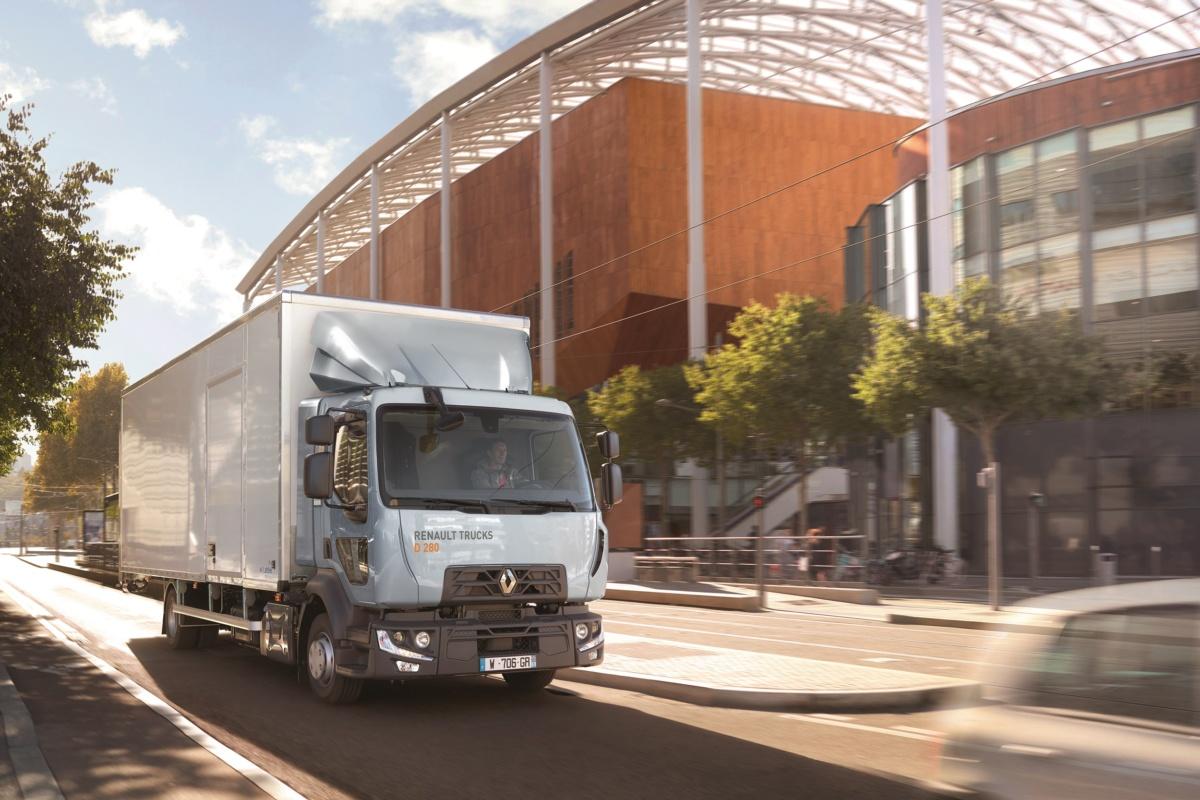 Renault Trucks серії D 2019 року