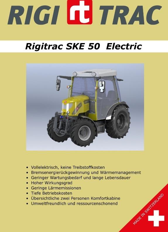 Rigitrac SKE 50 Electric