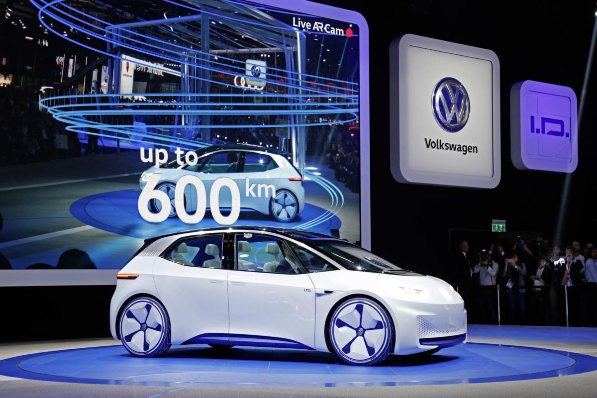 электромобили 2019-2020 - Volkswagen ID 2020