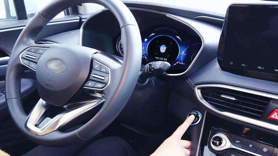 Santa Fe 2019 станет первым авто работающим от отпечатка пальца
