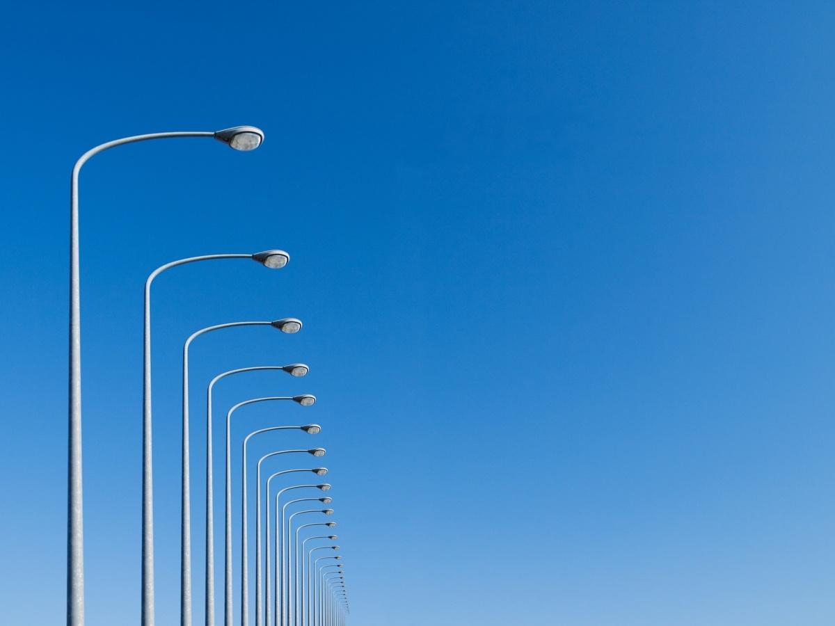 уличное освещение городов