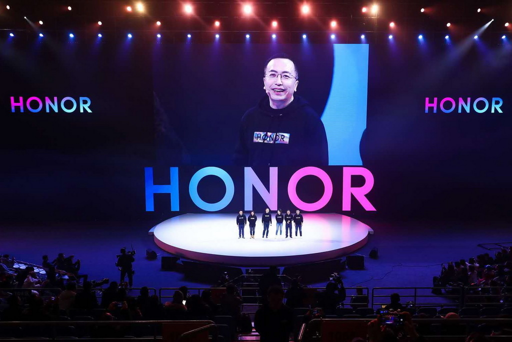 George Zhao spoke at the HONOR Fans Fest in Beijing_новый размер