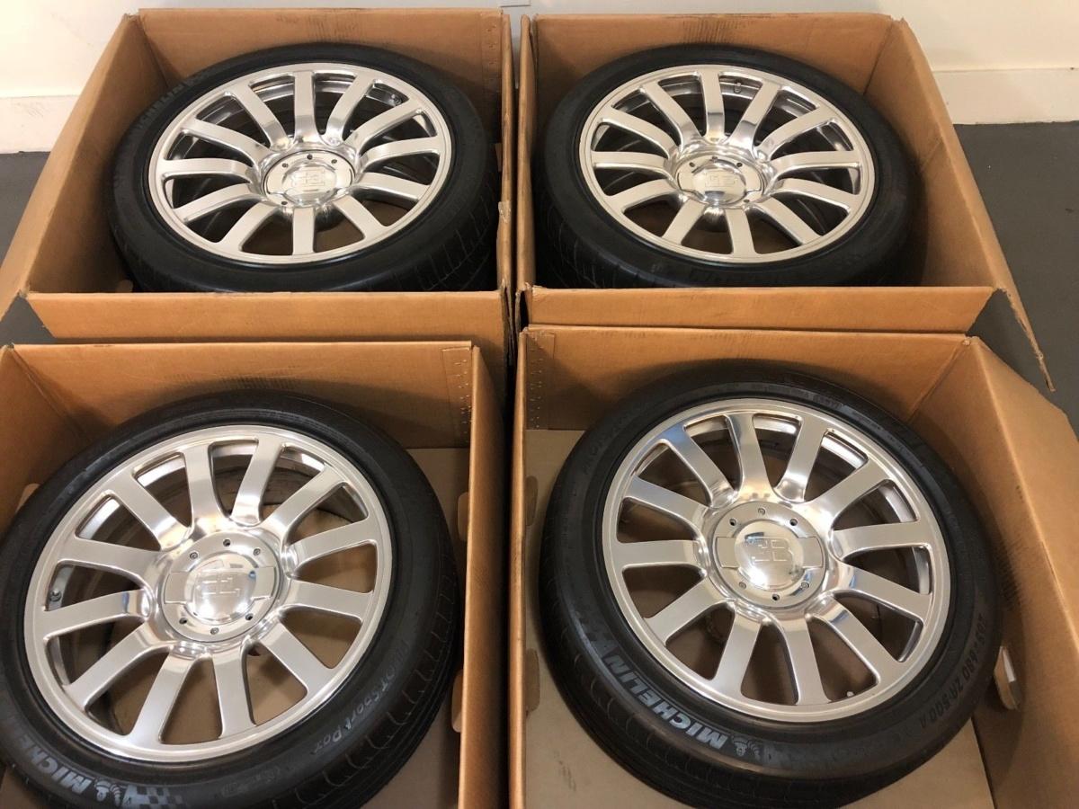 Подержанные колеса на Bugatti Veyron