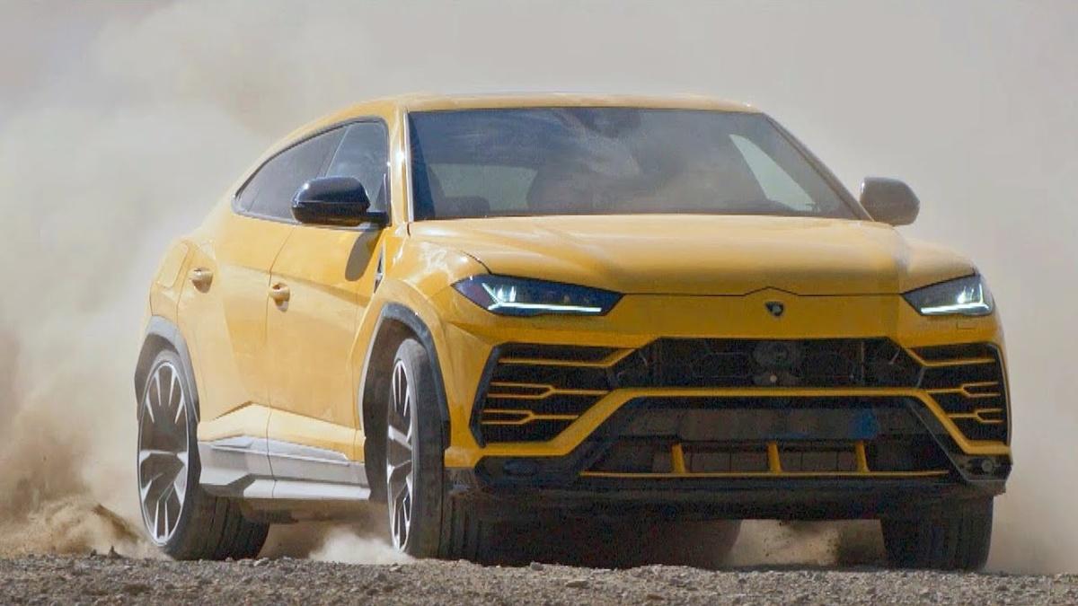 Самые дорогие машины 2018 года - Lamborghini Urus 2018