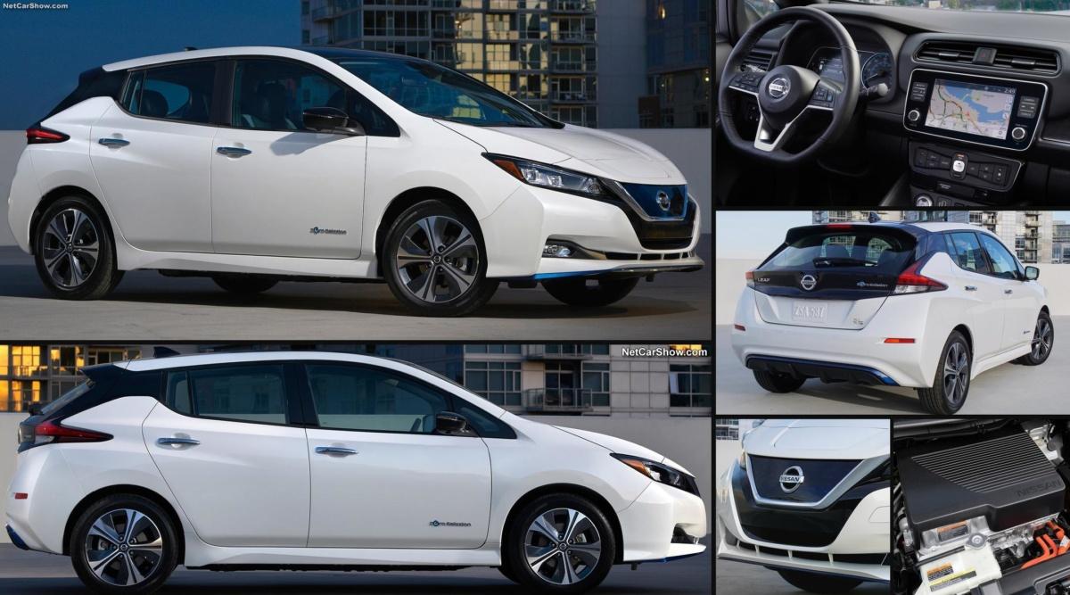 Электромобиль Nissan Leaf e-plus