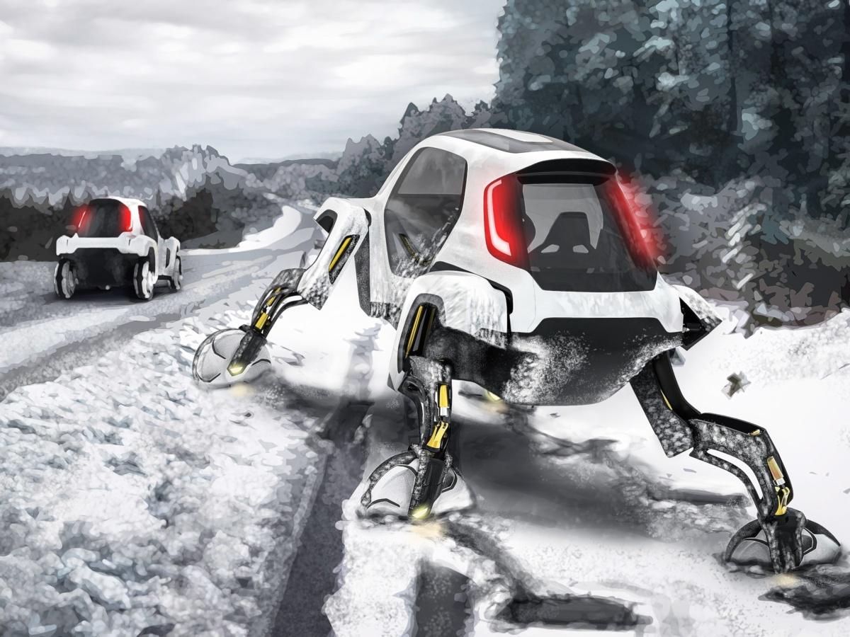 Спасательный автомобиль Elevate