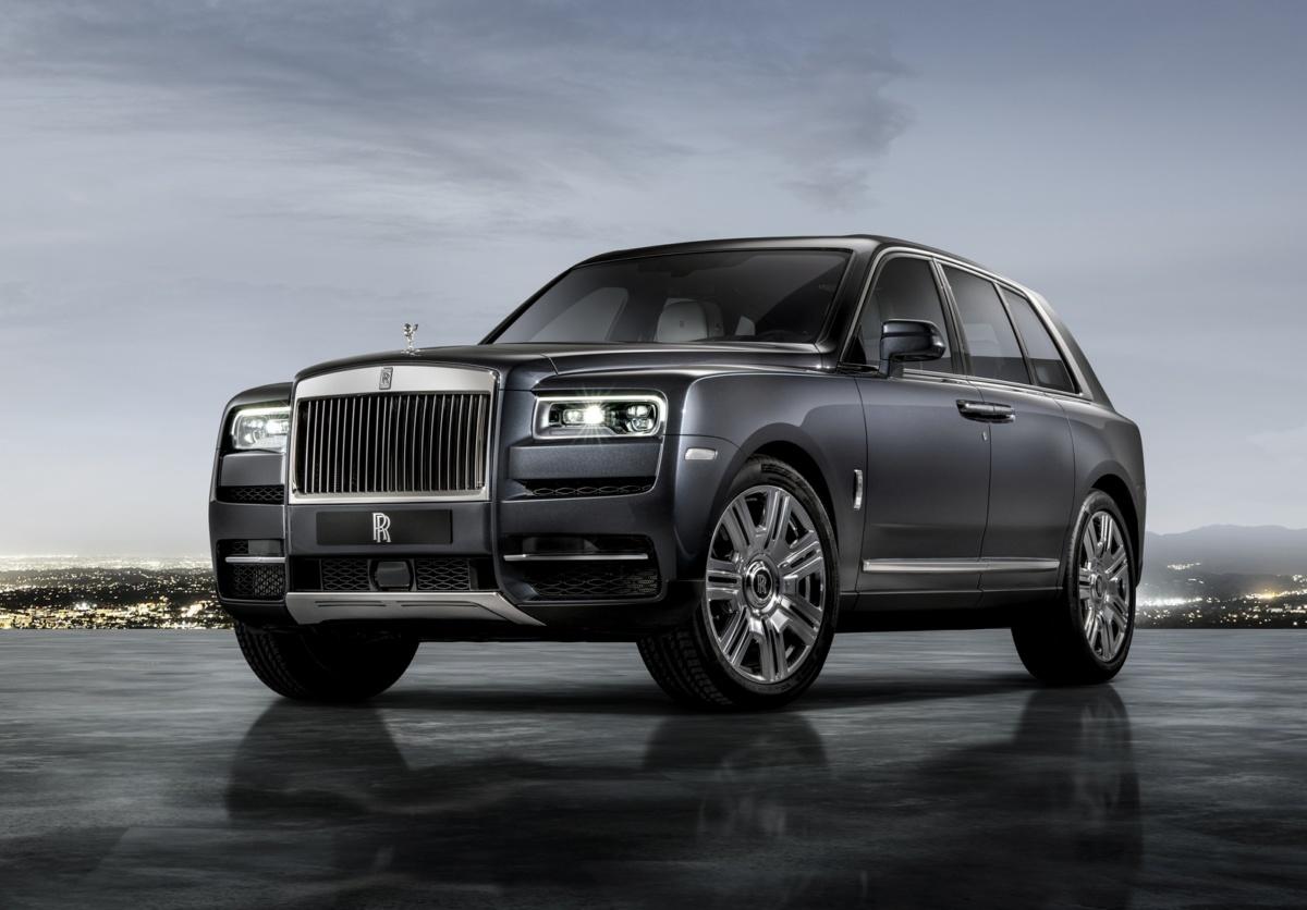 Самые дорогие машины 2018 года - Rolls Royce Cullinan