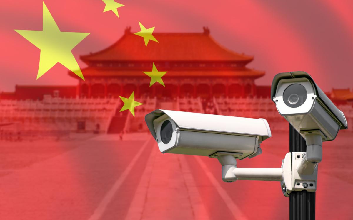 слежка в Китае за авто на электротяге