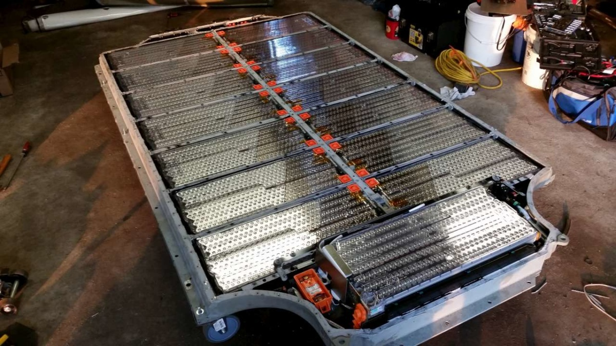 утилизация батарей электрокаров