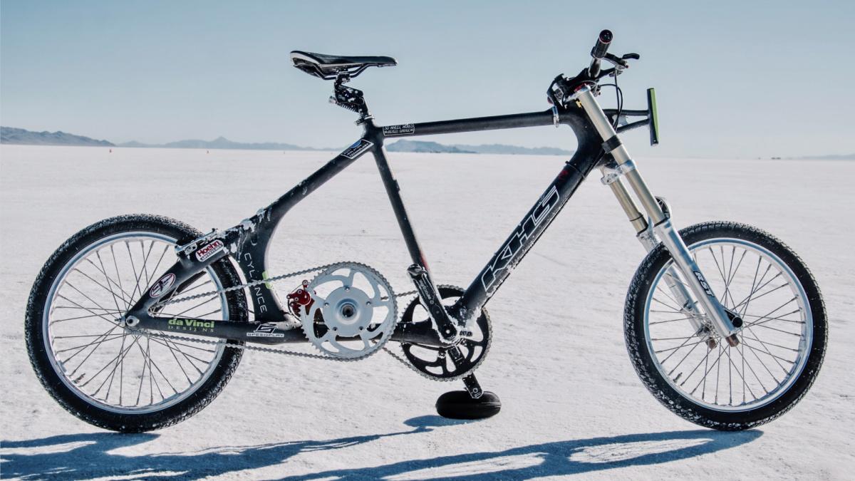 велосипед на котором установлен рекорд скорости