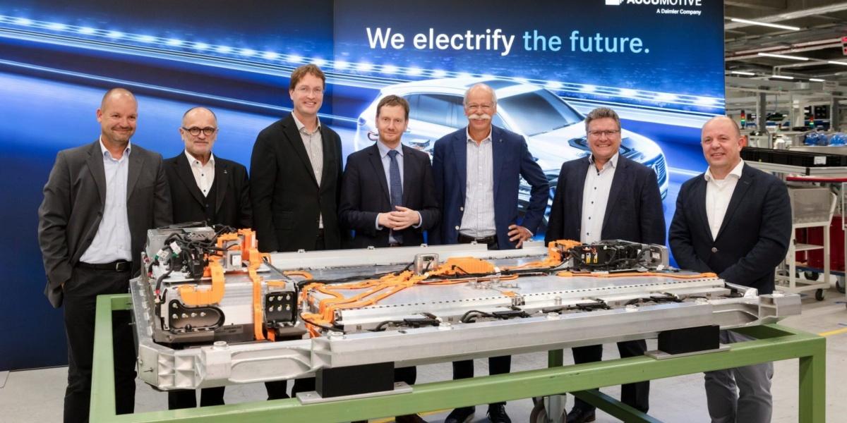 Мерседес построит в Польше завод по выпуску батарей для электрокаров