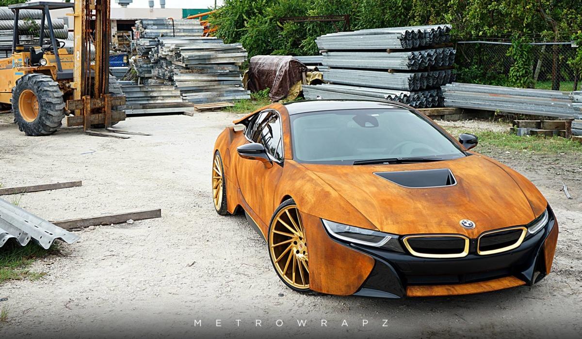 Как владельцы портят свои редкие и раритетные автомобили - BMW I8