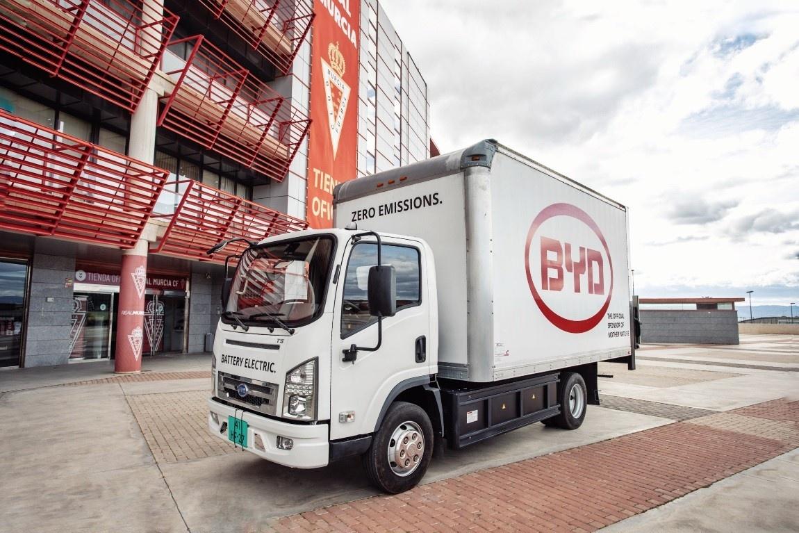 Малотоннажный грузовик BYD T6