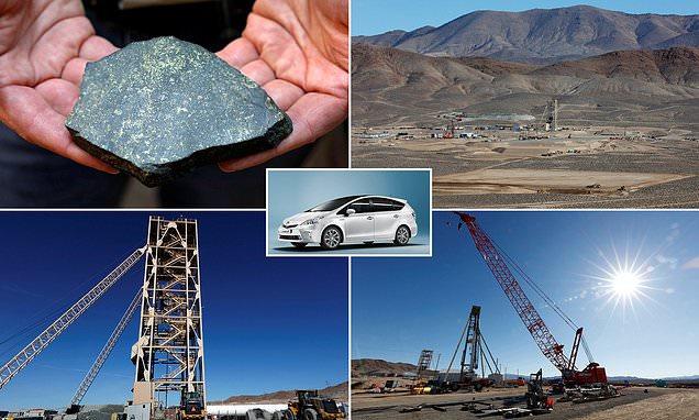 минералы для производства электромобилей - мель, кобальт, вольфрам, литий, никель