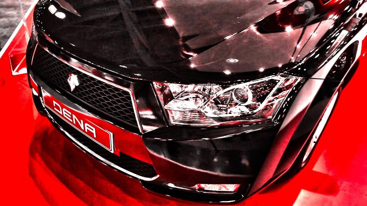 Иранские автомобили Dena - оптика