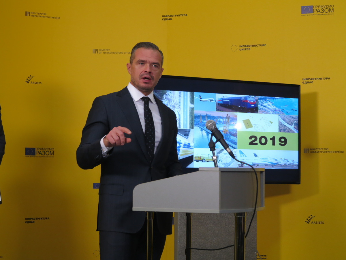 Славомир Новак о развитии ITS в Украине