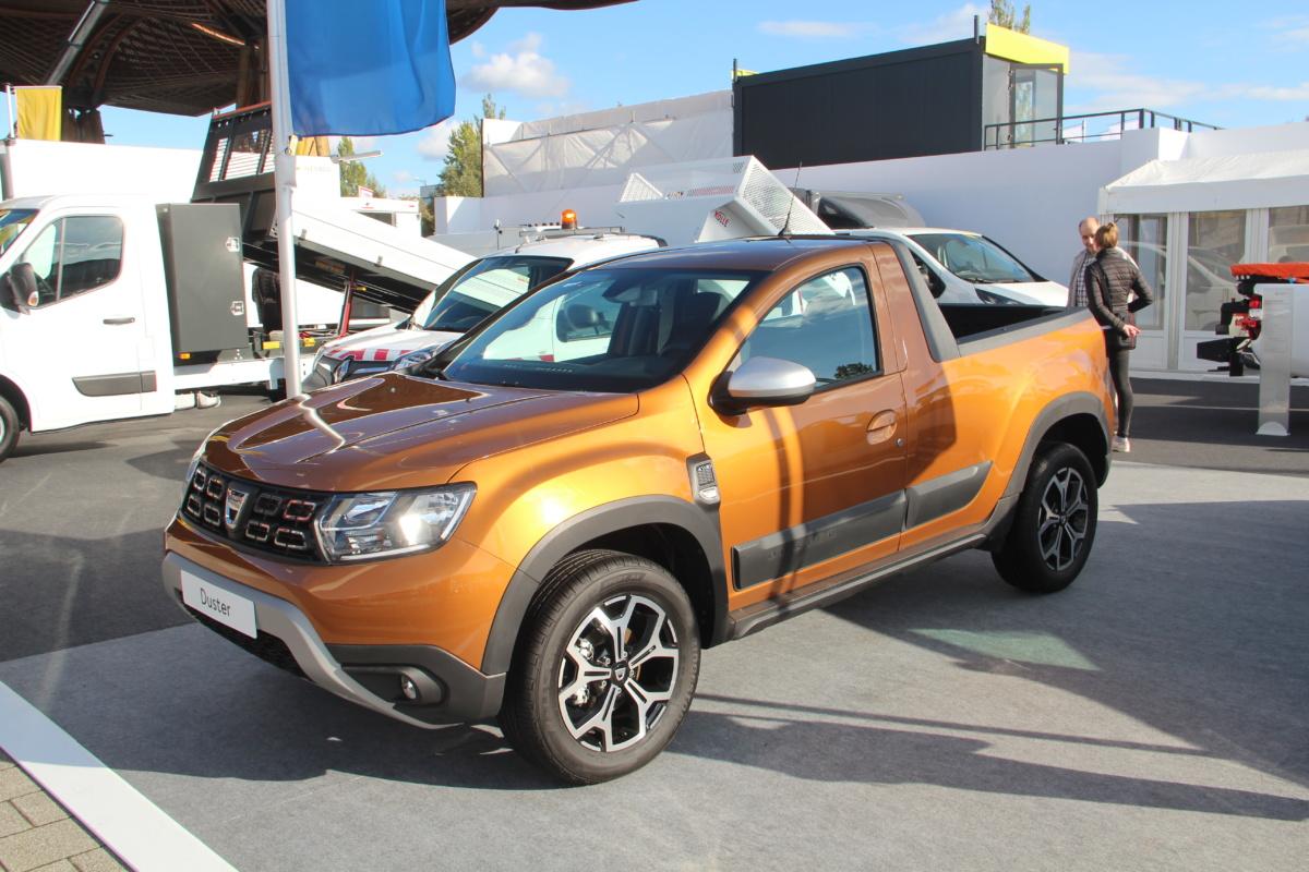Вмодельном ряду Dacia появится пикап набазе кроссовера Duster