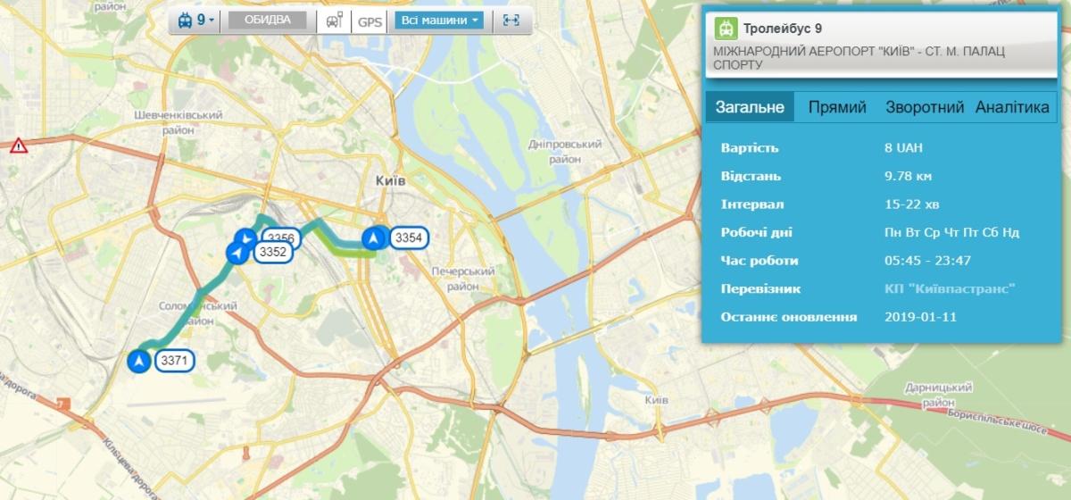 транспорт онлайн - сервис Easyway