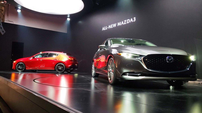 Mazda 3 2019 четвертого поколения