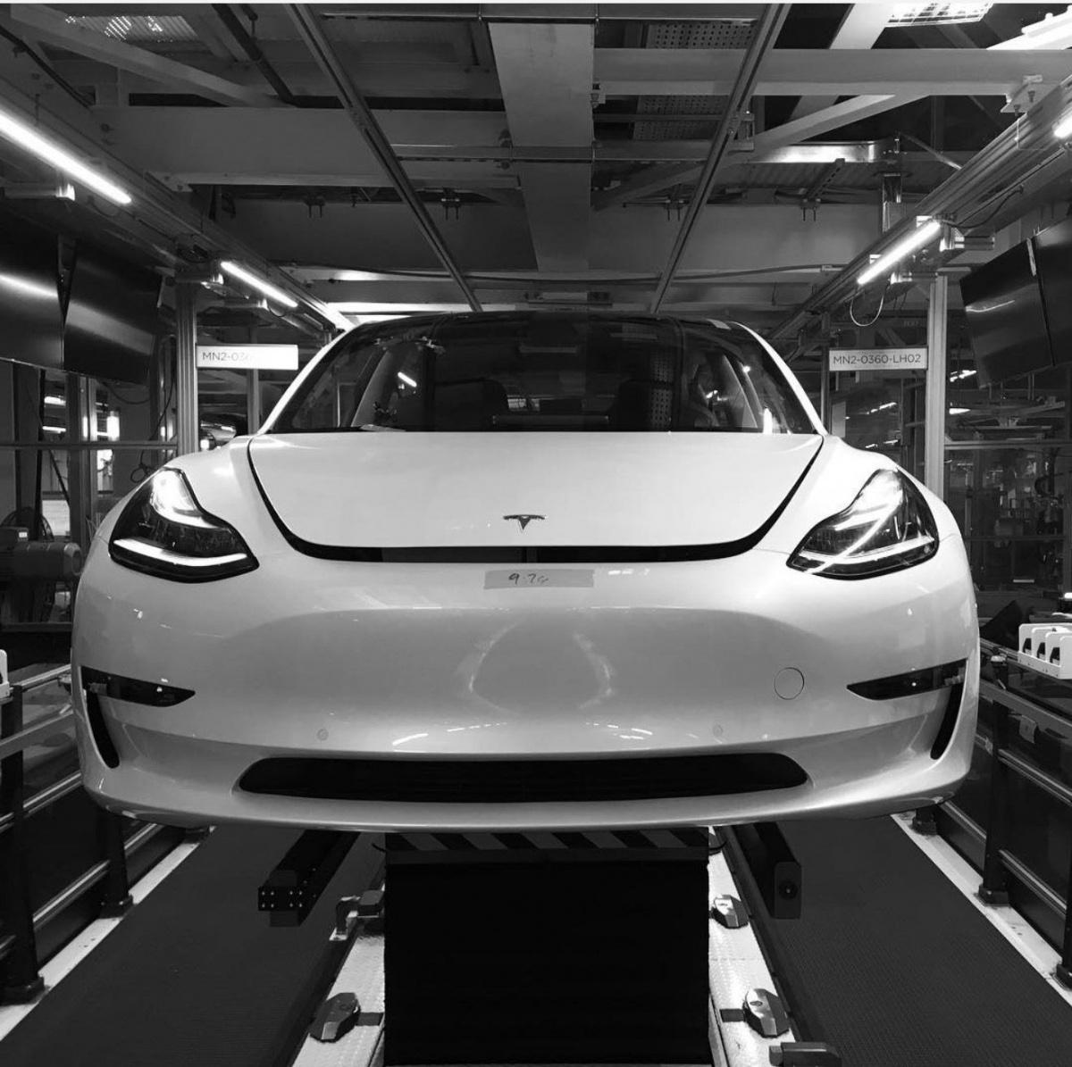 мировое производство электромобилей