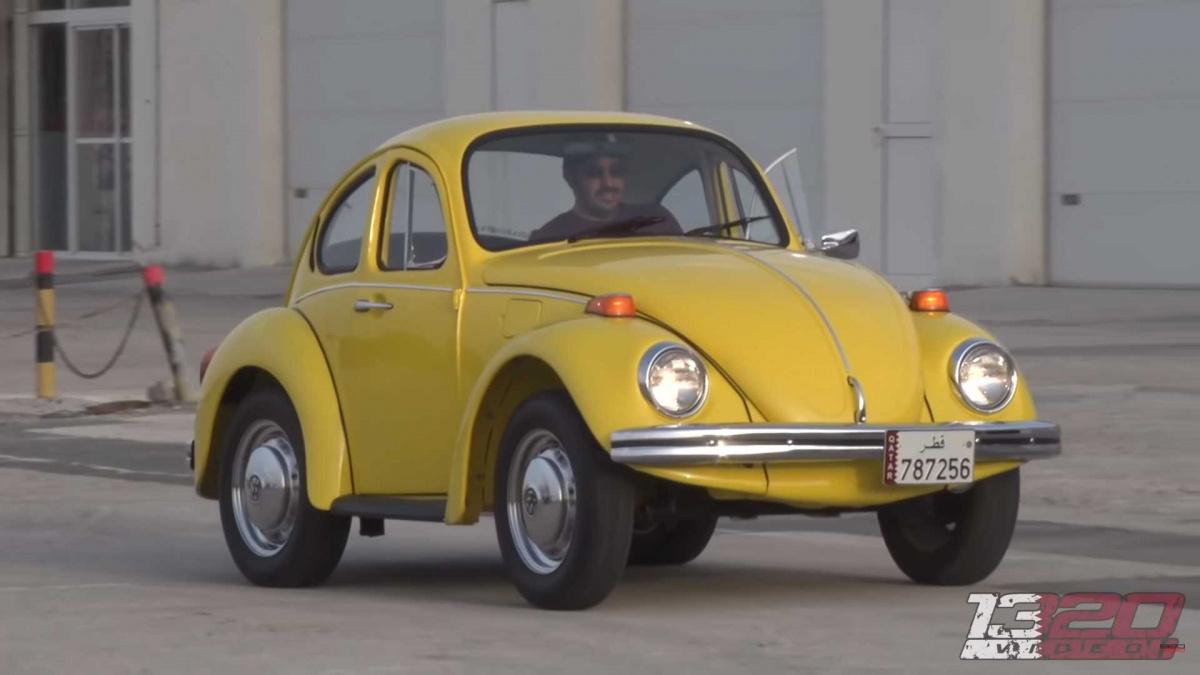 укороченный Volkswagen Beetle