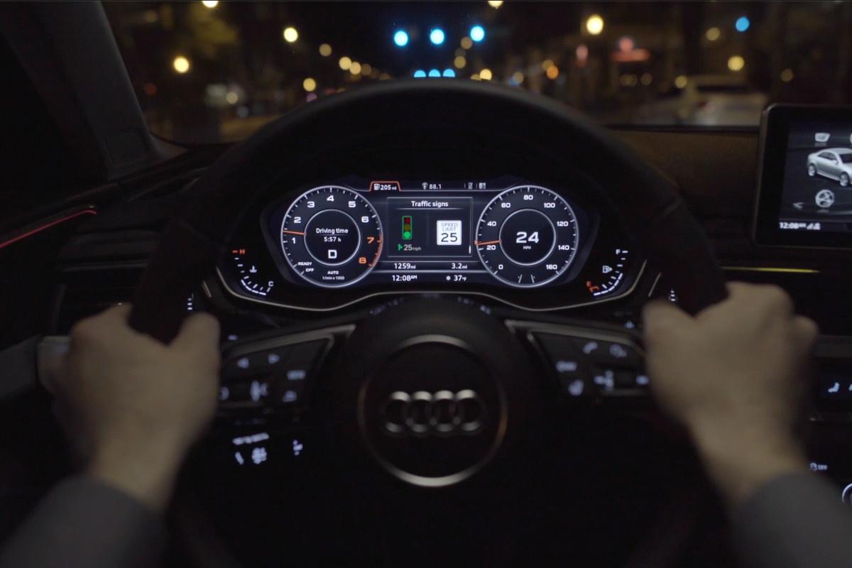Технология GLOSA от Audi – проезд всегда на зеленый