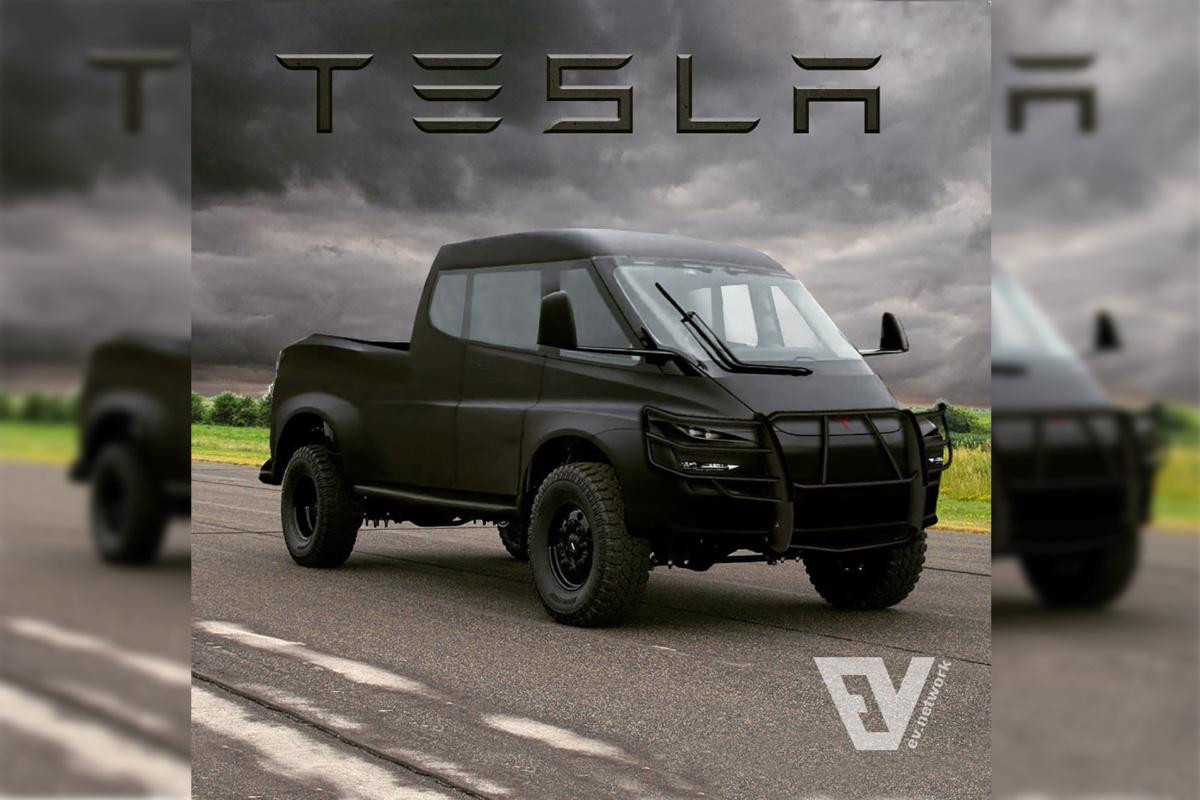 электропикап Tesla Pickup