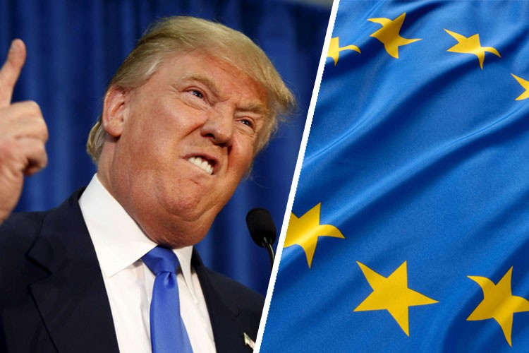 Трамп обещает поднять пошлины на европейские автомобили