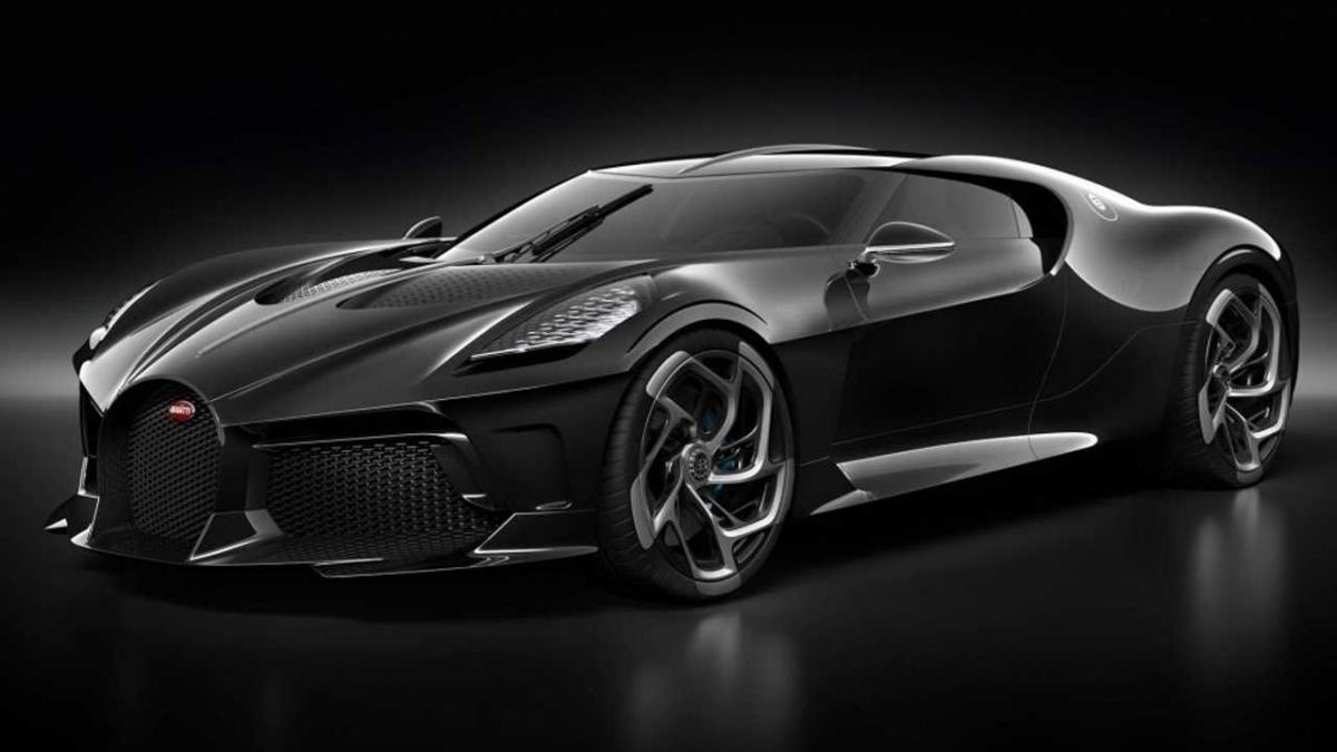Bugatti La Voiture Noire представленный на Женеве