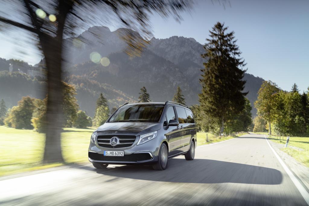 Mercedes разработал электрический минивэн сзапасом хода в400 километров