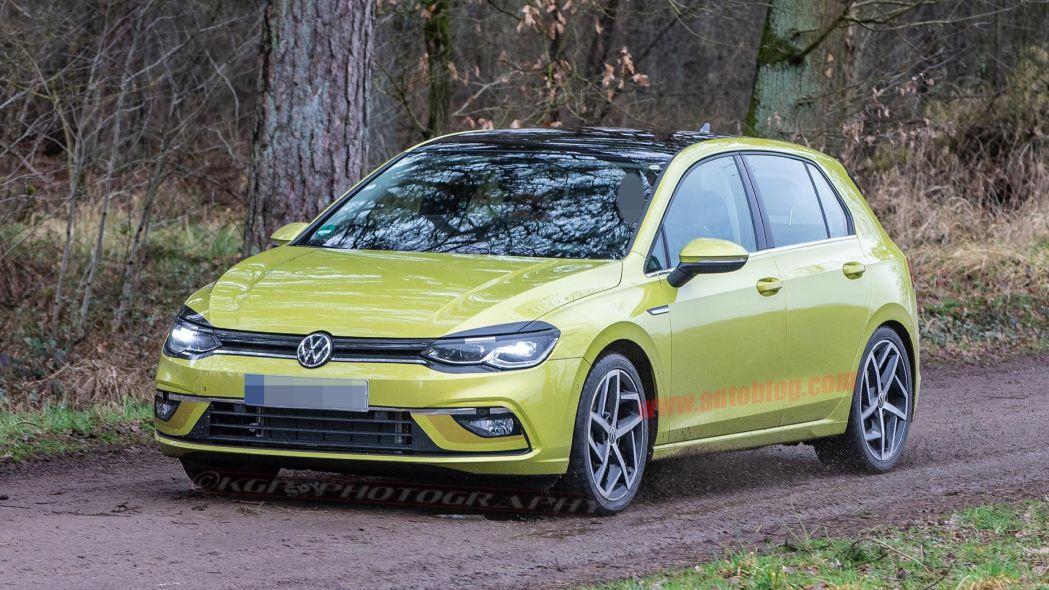 Новый хэтчбек VW  Golf рассекречен допремьеры