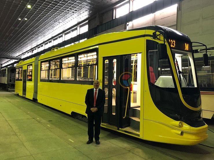 В Египте запустили украинский трамвай