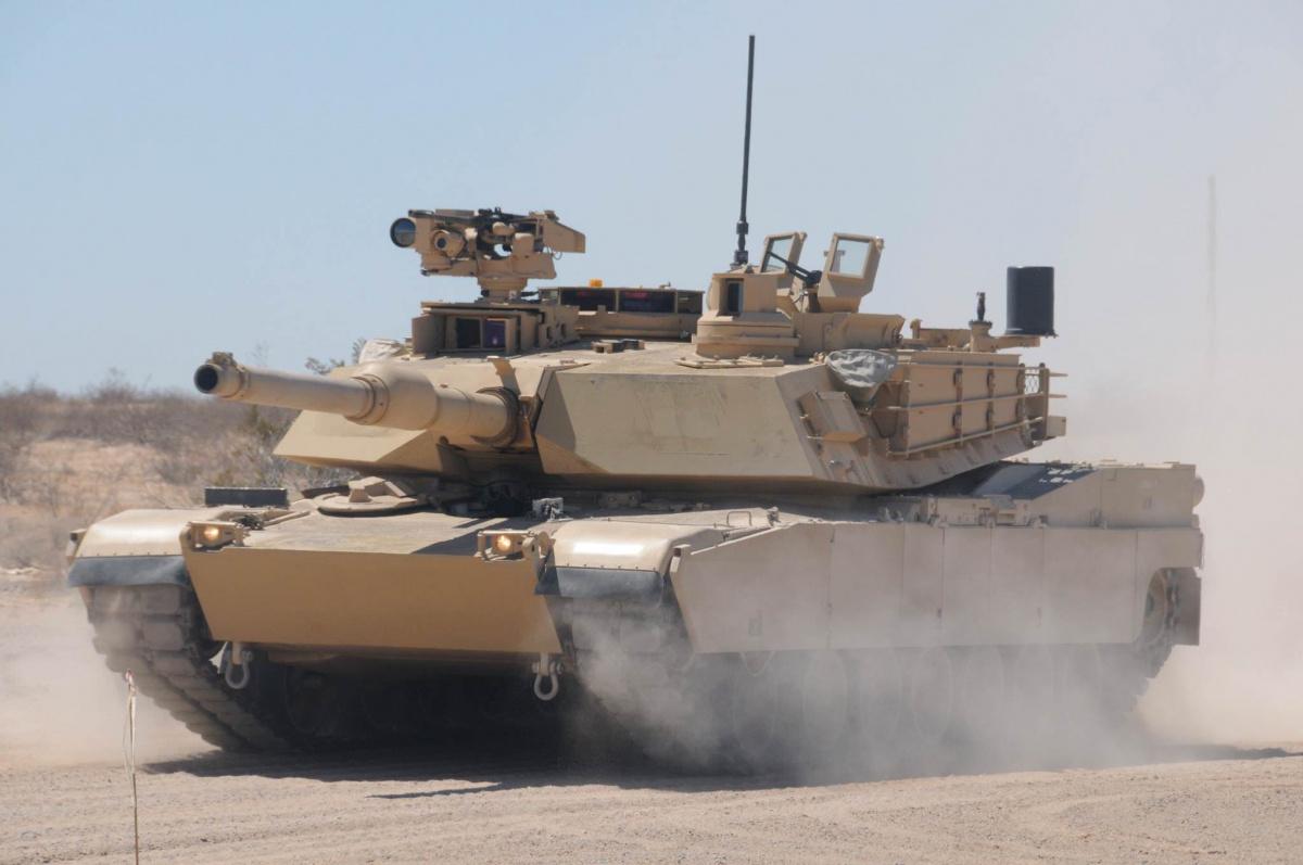 Новая версия Abrams M1A2C