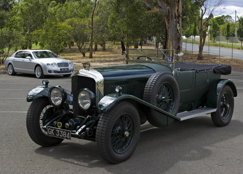 машина-подделка Bentley Speed Six 1930