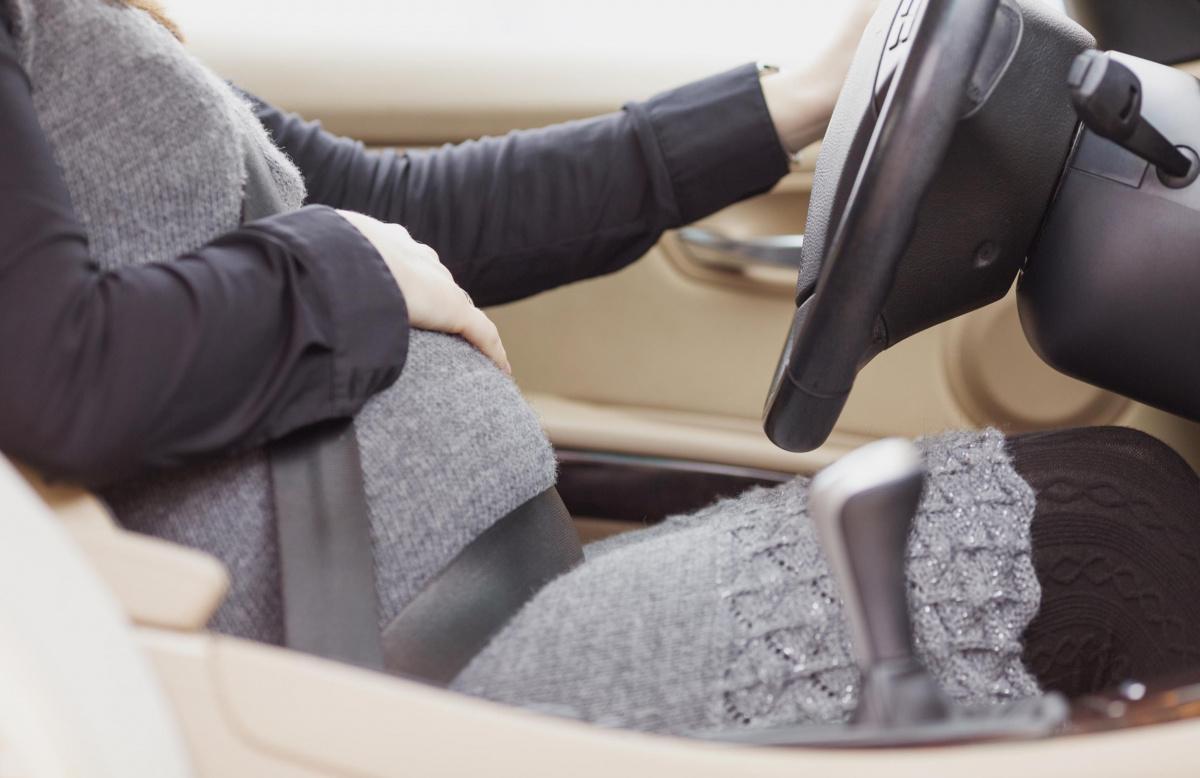 ремень безопасности во время беременности