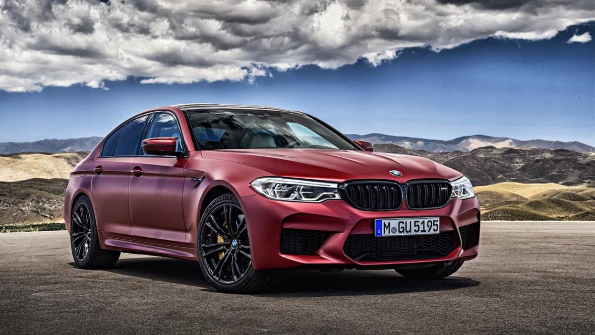 Разгон от 0 до 100 км/ч меньше, чем за 3 секунды - BMW M5 F90