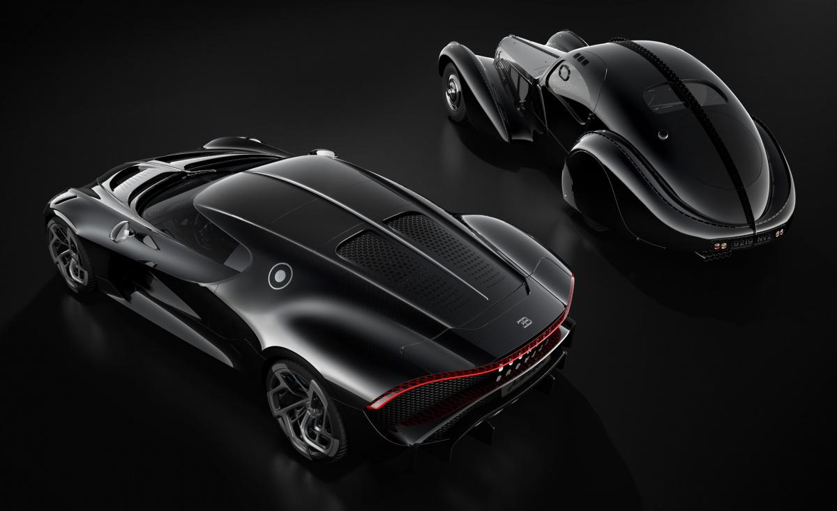 Bugatti La Voiture Noire самый дорогой автомобиль в мире
