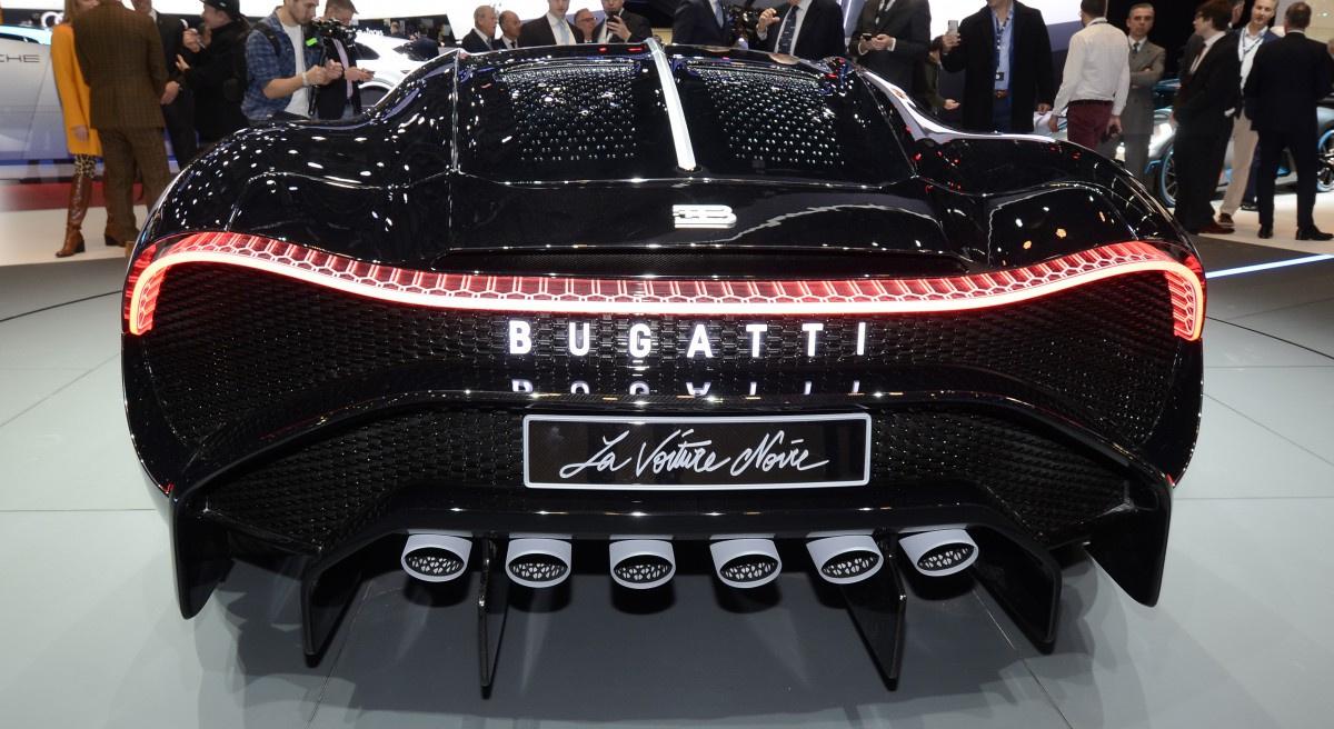 самый дорогой гиперкар в мире Bugatti La Voiture Noire