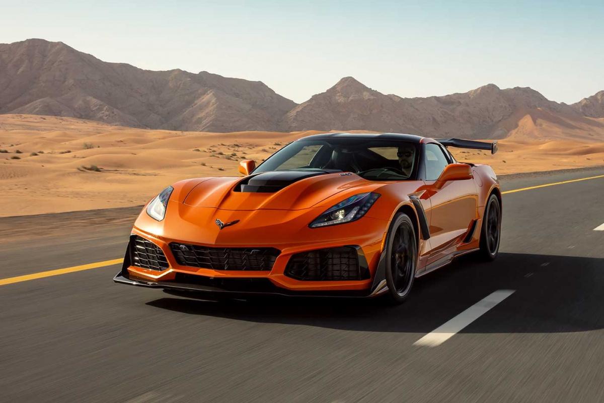 Разгон от 0 до 100 км/ч меньше, чем за 3 секунды - Chevrolet Corvette ZR1 2018