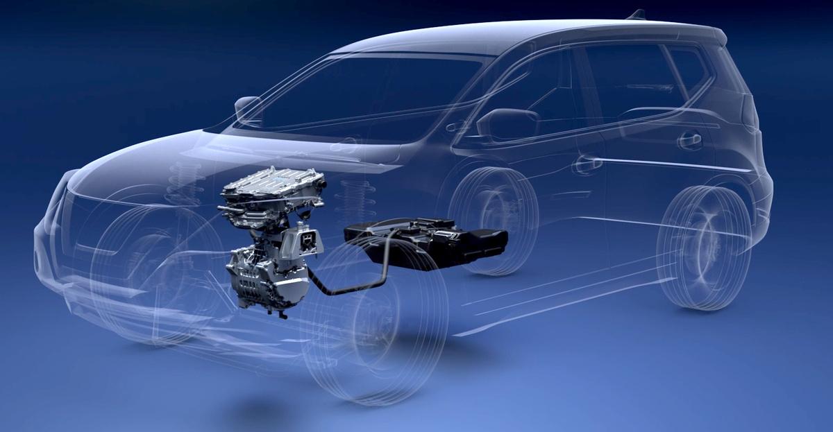 Nissan IMQ ДВС питающий батарею