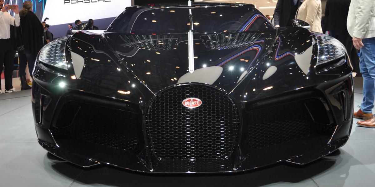 самое дорогое авто в мире Bugatti La Voiture Noire