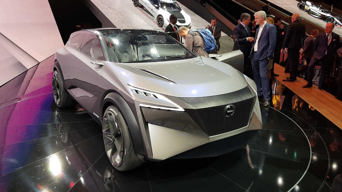 электрокроссовер Nissan IMQ