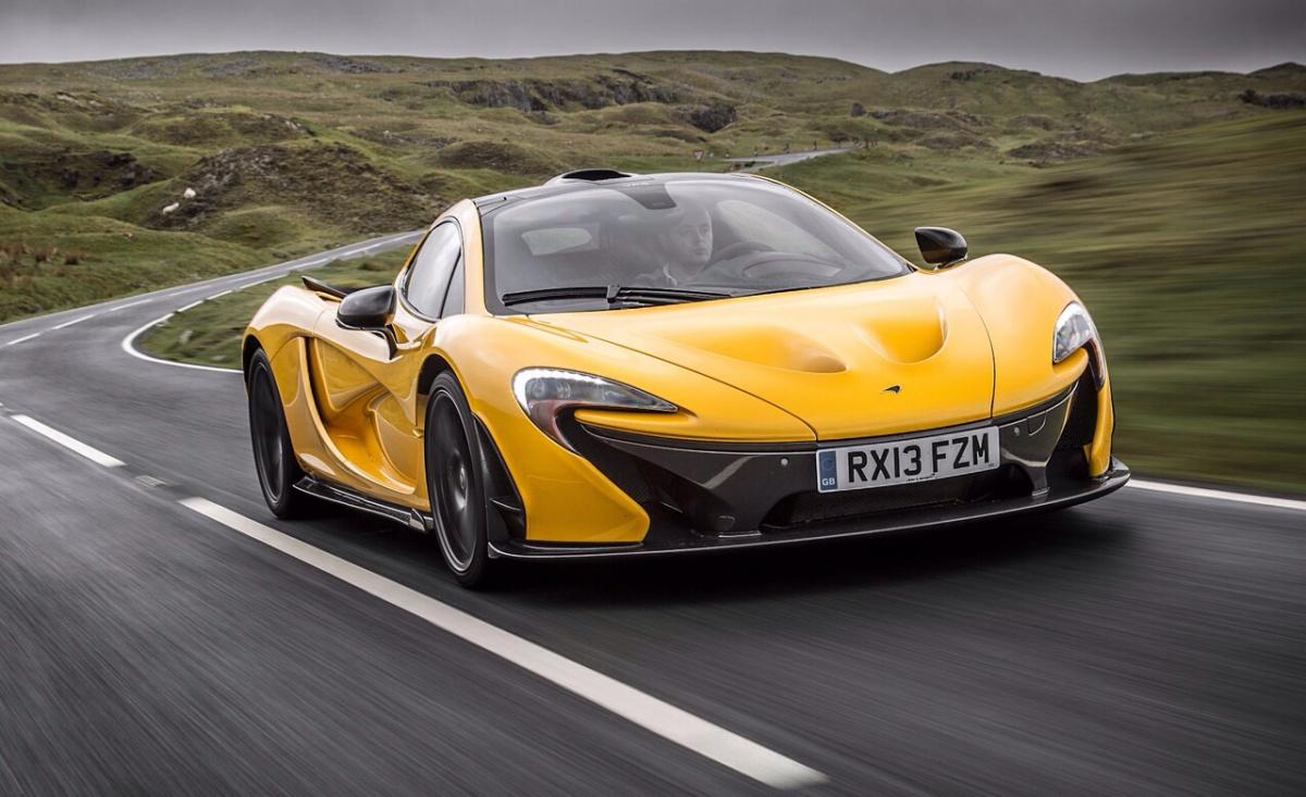 Разгон от 0 до 100 км/ч меньше, чем за 3 секунды - McLaren P1