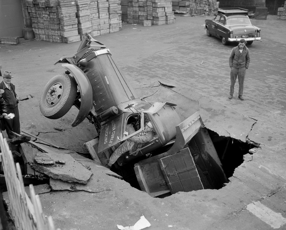 ДТП 30-х годов фотоколлекция: автомобильная авария_6