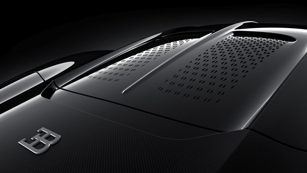 Bugatti La Voiture Noire кузов
