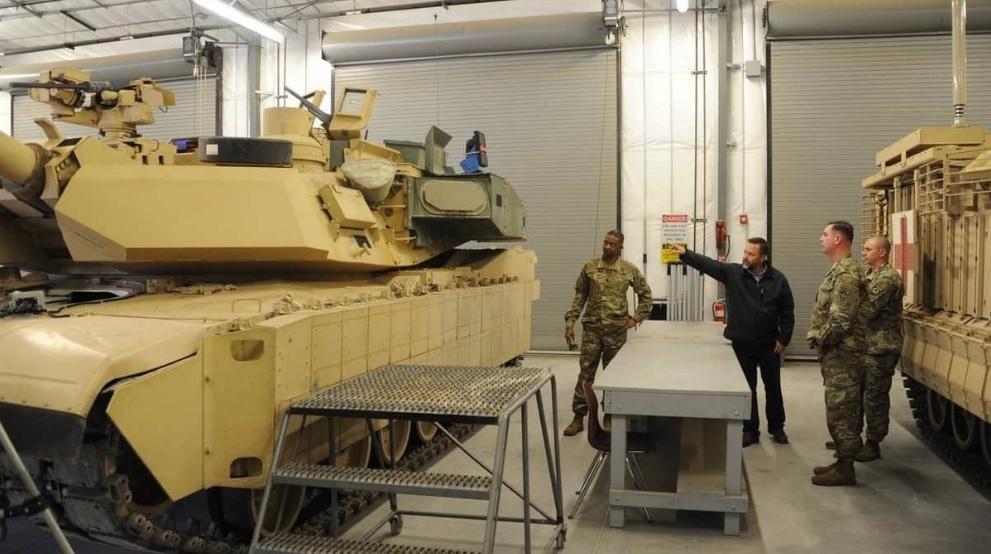 Модификация танка Abrams M1A2C