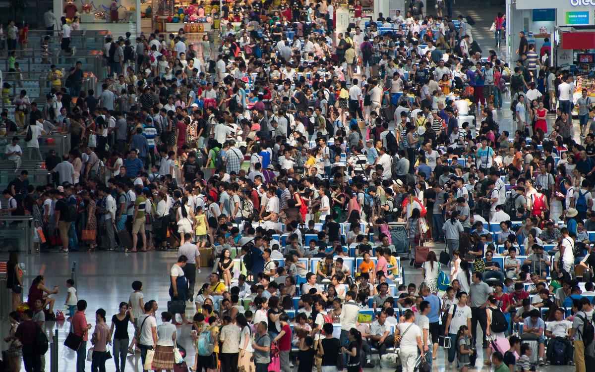 За плохое поведение в Китае запрещают покупать билеты на самолет и поезд