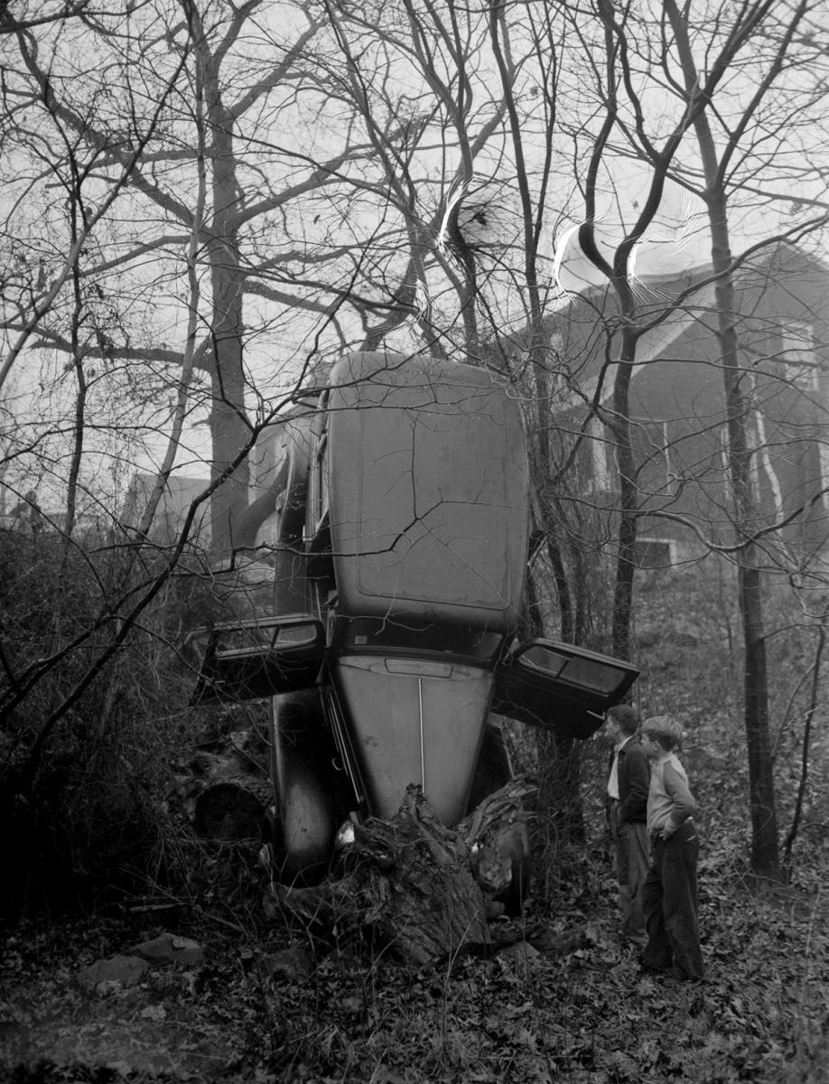 ДТП 30-х годов фотоколлекция: автомобильная авария_12