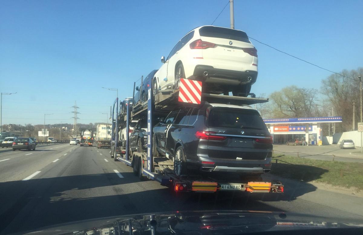 BMW X7 в Украине