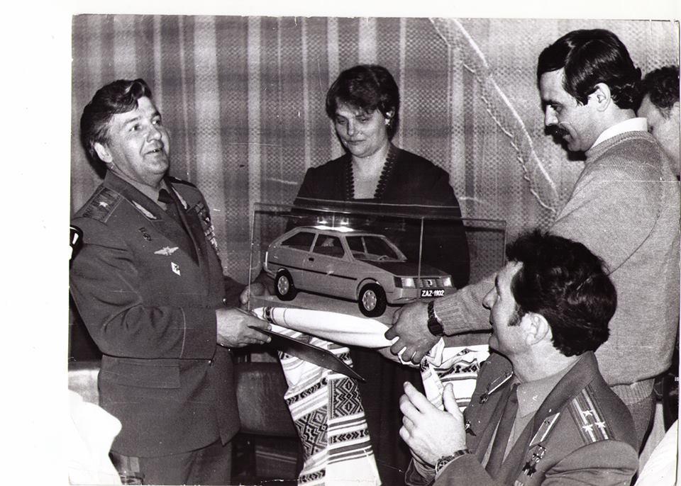 Как космонавтам подарили ЗАЗ-1102